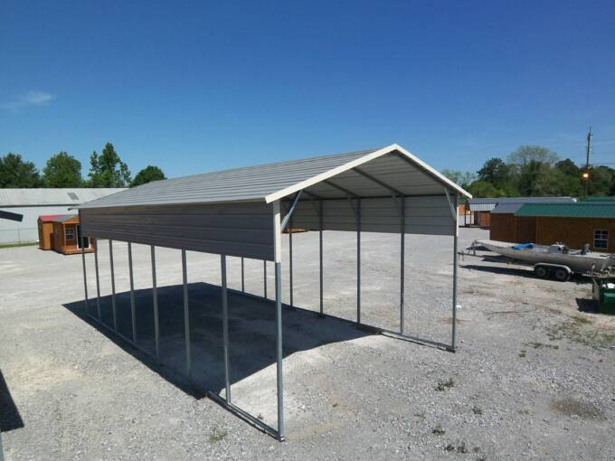 Outdoor Rv Covers : Metal rv cover